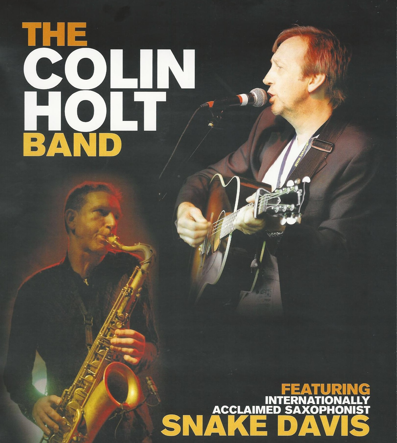 The Colin Holt Band & Snake Davis